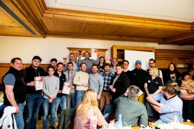 SSC Grossgmain Klubmeisterschaft Siegerehrung 2020 Weissbild 20200308 113